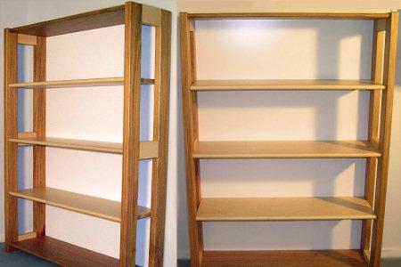 Libreria in legno per l\'arredamento casa e ufficio